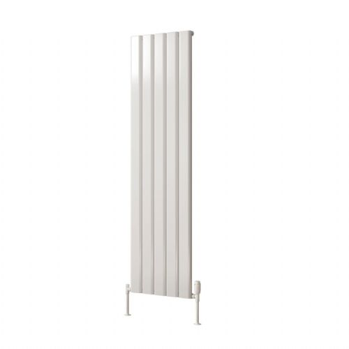 Reina Vicari Double Vertical Designer Radiator - 1800mm High x 400mm Wide - Anthracite